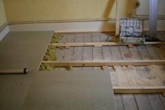 calage nouveau plancher