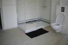 salle de bain parquet blanchi