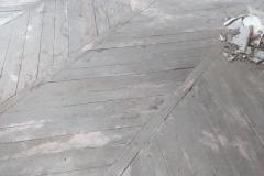 parquet echelle point de hongrie avant rénovation