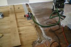 Rénovation de parquet à Plainfaing