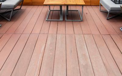 Terrasse bois à La Bresse